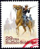 Buffalo Soldiers stamp