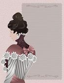 Ladies 19th century fashion