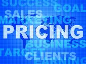 Pricing Words Means Money Outlay And Finances