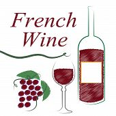 France French Indicates Wine Tasting And Alcoholic