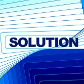 Solution Word Represents Solve Commercial And Goal