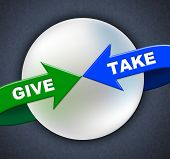 Give Take Arrows Shows Donated Proffer And Taking