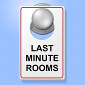 Last Minute Rooms Represents Place To Stay And Hotel