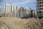 Demolition In Chinese City
