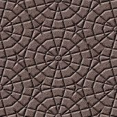 Ornate Cobble Stone Pavement Texture