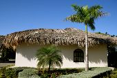 House with Thatched Roof