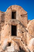 Tunisia. Medenine. Fragment Of Old Ksar Located Inside Village. There Were Formerly Fortified Granar