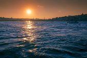 Sunset Above Bosporus