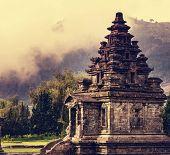 foto of arjuna  - Arjuna complex in plateau Dieng - JPG