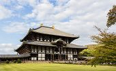 Todai-ji Temple In Nara, The Largest Wooden Building In The World.