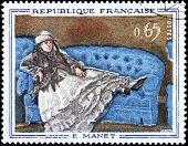 Manet Stamp