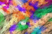 image of impressionist  - abstract impressionist art work  - JPG