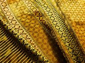 picture of cocoon  - Thai silk is produced from the cocoons of Thai silkworms - JPG