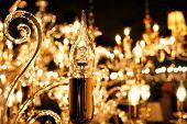 picture of chandelier  - Lamp  chandelier close - JPG