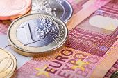 picture of money  - Euro currency - JPG