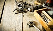 image of pliers  - The old working tool - JPG