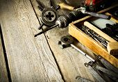 picture of pliers  - The old working tool - JPG