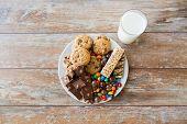 stock photo of junk  - junk food - JPG