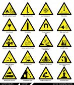 picture of signs  - Set of safety signs - JPG