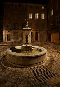 Lovely fountain in Aix-en-Provence, France.