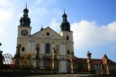Medieval Monastyre in Kalwaria Zebrzydowska