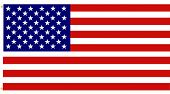 picture of american flags  - The flag is accurate and detailed with beveled stars - JPG