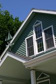 pic of soffit  - closeup of vacation beach home - JPG