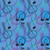 Music seamless background