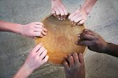 pic of field_stone  - Hands holding an empty bowl - JPG