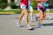 Marathon (motion blur) bib numbers have been changed