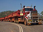 Road Train in Australia's NT