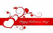 pic of valentines day card  - Vector - JPG