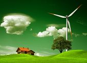 stock photo of natural resources  - Green natural environment - JPG