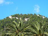 Castelo de Naupaktos na Grécia