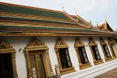 The Grand Palace, Bangkok, Thailand - Travel And Tourism. poster