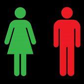 restroom icon - enter