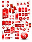 big set of vector price tags - you can use it for any sale time or seasons