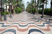 Promenade In Alicante, Spain