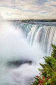 Horseshoe Falls At Niagara Falls In Ontario And New York Border poster