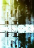 futuristischer Hightech Hintergrund Nr. 3