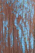 Old Wooden Background With Remains Of Pieces Of Scraps Of Old Paint On Wood. Texture Of An Old Tree, poster