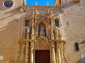 Famous landmark Basilica de Santa Maria, Saint Mary church Alicante Valencia Costa Blanca Spain