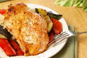 Broiled Pepper Chicken