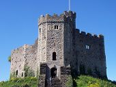 Medieval Cardiff Castle (Castell poster