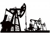 vector of oil pump