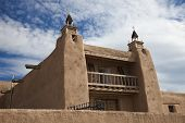 Iglesia en Las Trampas, New Mexico