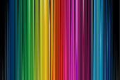 abbildung abstrakt Regenbogen farbige vertikale Streifenmuster Hintergrund mit blures