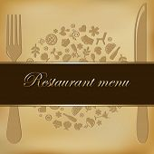 Restaurant Menu Design, Vector Illustration
