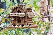 Beauty handmade creative bird box