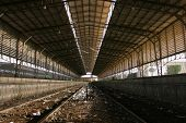 pic of aswan dam  - Aswan Dam train station Egypt - JPG